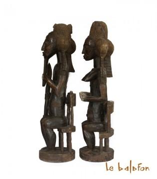 Statue Couple Assey Usu