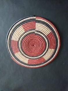Set de table rond en osier | vannerie Burkina