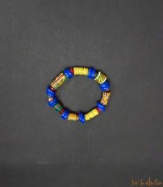More about Bracelet africain multicolore en perles de verre recyclées