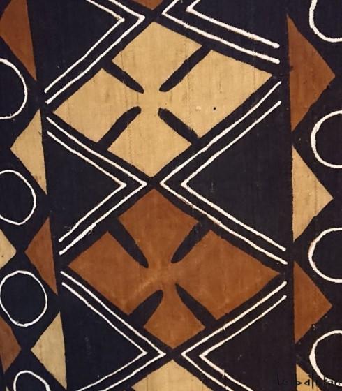 Plaid ethnique africain bogolan